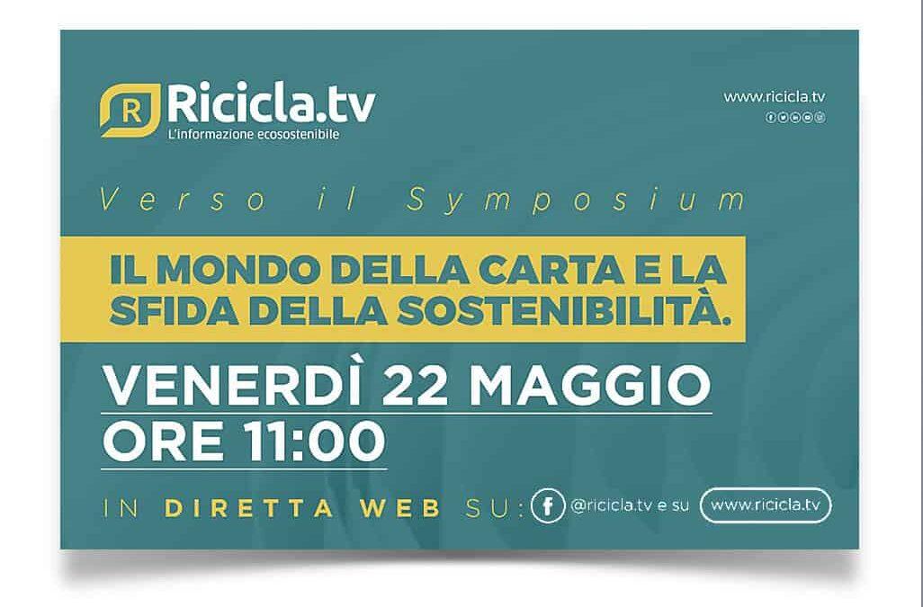 Carta e sostenibilità, il 22 maggio confronto in diretta web su ricicla.tv