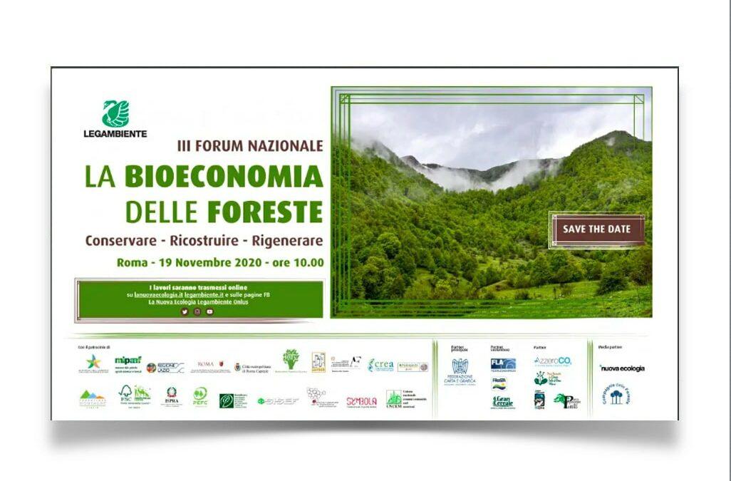 La Federazione Carta e Grafica al III Forum di Legambiente sulla bioeconomia delle foreste