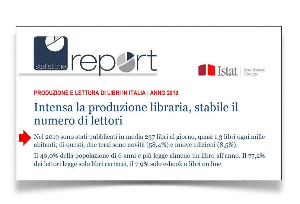 Istat: boom di editori e nuovi titoli per combattere il calo di libri venduti