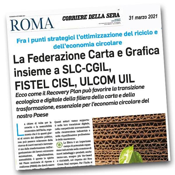Sul Corriere-Roma le proposte al Governo di Federazione e sindacati