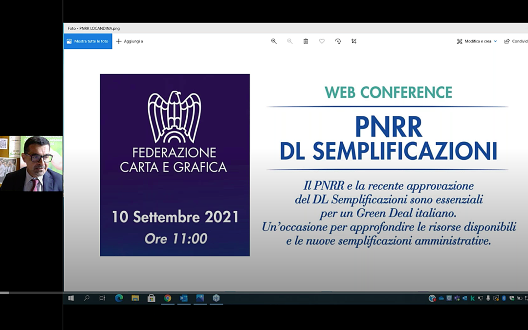 PNRR e DL Semplificazioni: le novità e le opportunità per le imprese della filiera